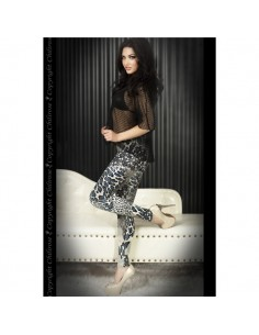 Leggings Cr-3456 Azuis E Pretas - 40 L - PR2010319944