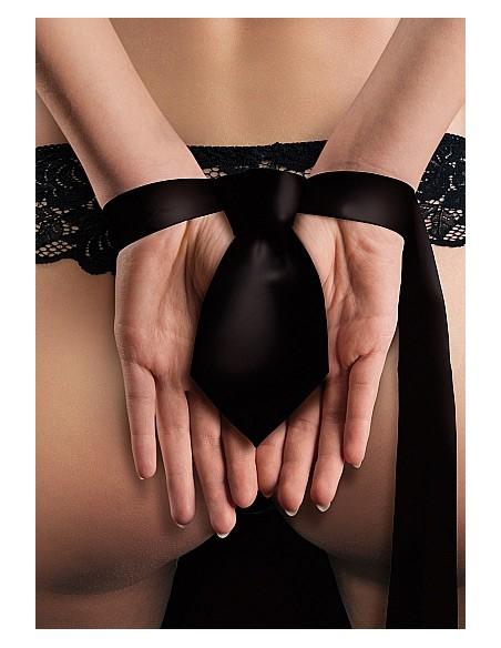 Gravata Bondage Tie Me Up Preta