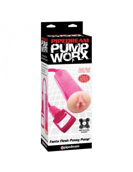 Bomba Pump Worx Fanta Flesh Pussy Pump