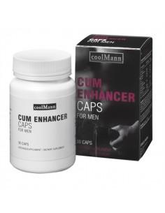 Volumizador De Esperma Coolmann Cum Enhancer 30 Cápsulas
