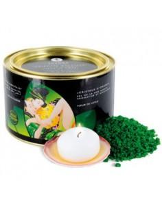 Sais De Banho Shunga Oriental Crystals Lotus Flower 600Gr