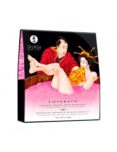 Sais De Banho Shunga Love Bath Dragon Fruit 650Gr - PR2010313041
