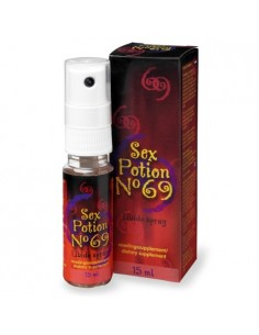 Spray Estimulante Sex Potion Nº 69