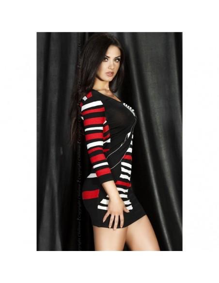 Vestido Cr-3535 Vermelho - 36-38 S/M - PR2010320311