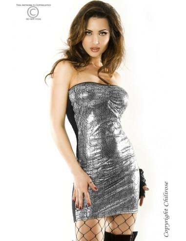 Vestido Cr-3348 Prateado - 40-42 L/XL - PR2010319235