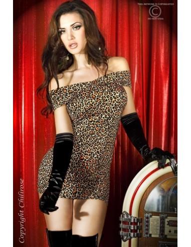 Vestido Cr-3323 Castanho - 36-38 S/M - PR2010319211