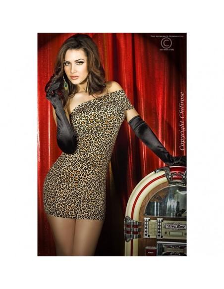 Vestido Cr-3322 Leopardo