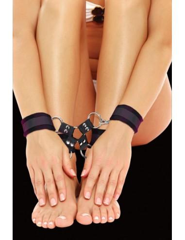 Algemas Para Os Pulsos E Tornozelos Ouch! Velcro Hand And L - PR2010318025