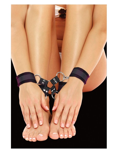 Algemas Para Os Pulsos E Tornozelos Ouch! Velcro Hand And L