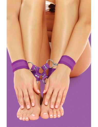 Algemas Para Os Pulsos E Tornozelos Ouch! Velcro Hand And L - PR2010318022