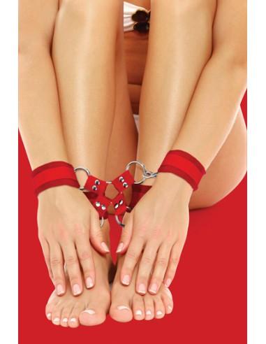 Algemas Para Os Pulsos E Tornozelos Ouch! Velcro Hand And L - PR2010318026