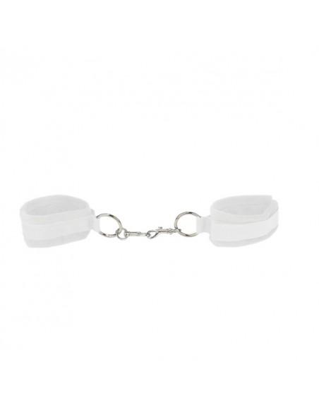 Algemas Ouch! Velcro Handcuffs Brancas - PR2010318021