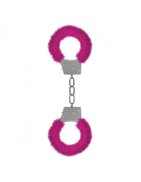 Algemas Com Peluche Pleasure Furry Handcuffs Rosa