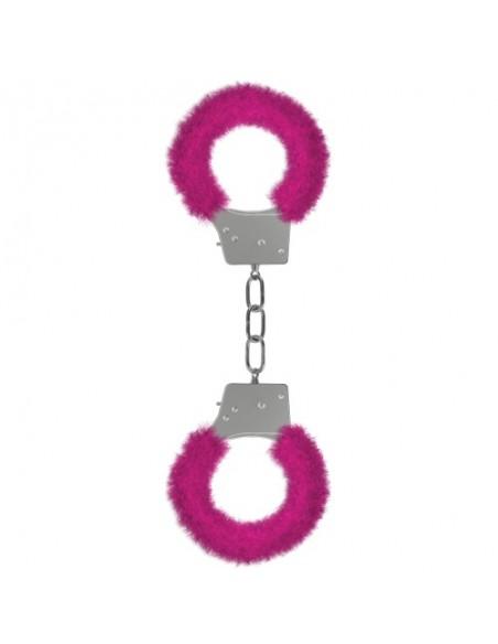 Algemas Com Peluche Beginner's Furry Handcuffs Rosa