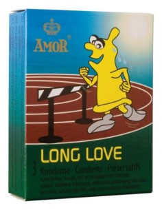 Preservativos Retardantes Long Love (3 Unidades)