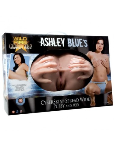 Masturbador Ashley Blue Spread Wide Vagina E Ânus - PR2010320606