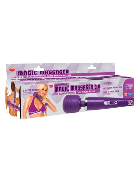 Massajador Recarregável Magic Massager 2.0 - PR2010314032