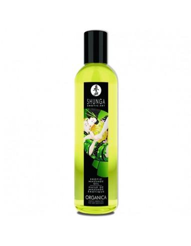 Óleo De Massagem Shunga Organica Chá Verde - 250ml - PR2010302057