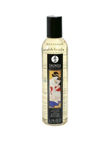Óleo De Massagem Shunga Libido Frutos Exóticos - 250ml - PR2010300687