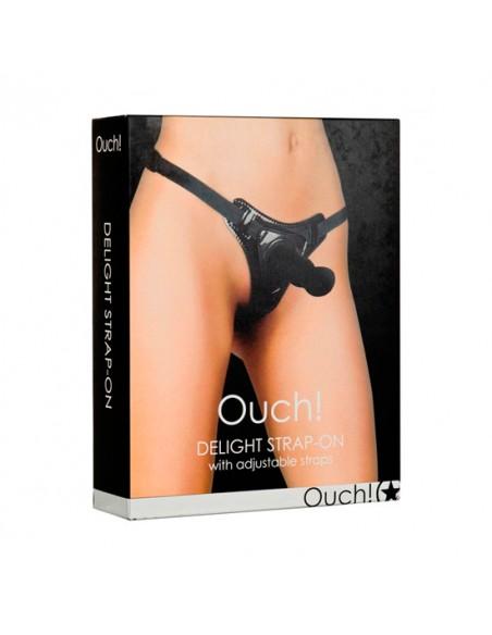 Strap-On Ouch! Delight Preto - PR2010317981