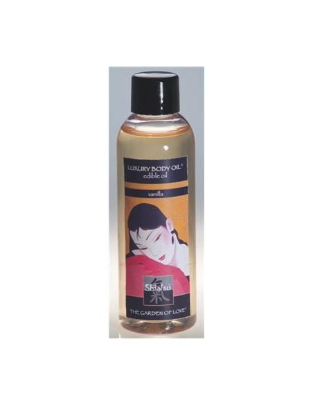 Óleo De Massagem Comestível Shiatsu Baunilha