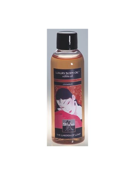 Óleo De Massagem Comestível Shiatsu Canela