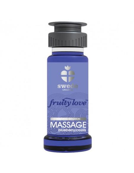 Óleo De Massagem Fruity Love Mirtilo E Cassis