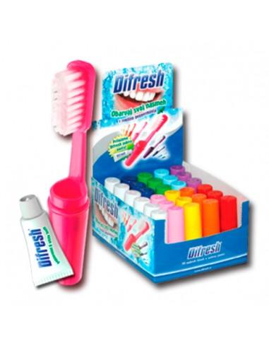 Kit Escova de dentes com pasta para viagem - PR2010321065