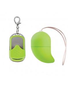 Ovo Vibratório G-Spot Egg Verde Pequeno