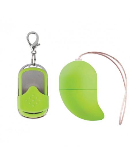 Ovo Vibratório G-Spot Egg Verde Pequeno - PR2010312560