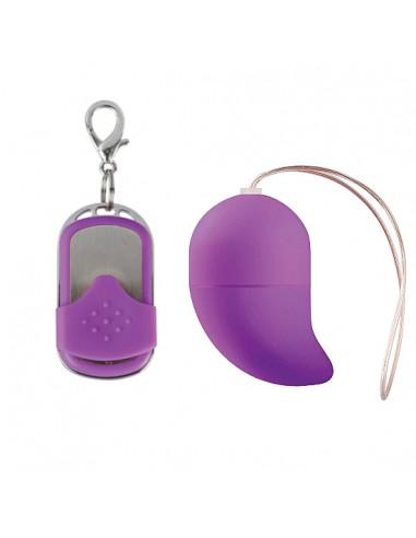 Ovo Vibratório G-Spot Egg Roxo Pequeno - PR2010312557