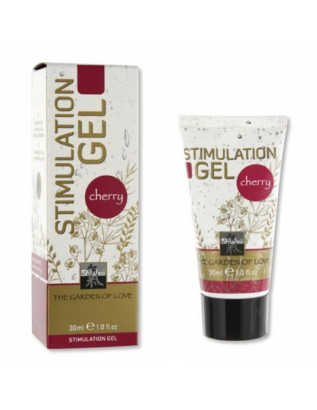 Gel Estimulante Shiatsu Stimulation Gel Cereja