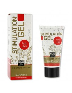 Gel Estimulante Shiatsu Stimulation Gel Hot Chili