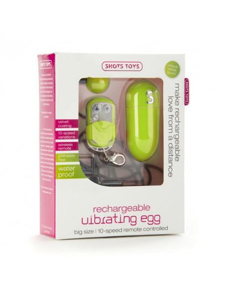 Ovo Vibratório Recarregável Vibrating Egg Verde - PR2010312553