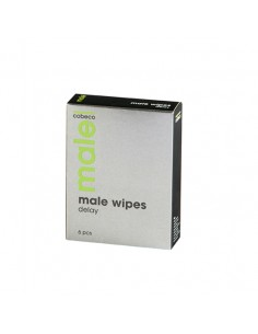Caixa Com 6 Toalhitas Male Delay Wipes