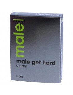 Caixa Com 6 Saquetas Male Get Hard - 4ml - PR2010320147