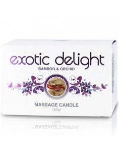 Vela De Massagem Exotic Delight 150Gr