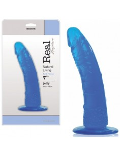 Dildo Real Rapture Earth Flavour 7'' Azul