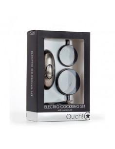 Eletroestimulador Ouch! Electro Cockring Set - PR2010318009