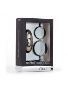 Eletroestimulador Ouch! Electro Cockring Set - PR2010318009