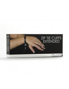 Algemas Descartáveis De Plástico Ouch! Zip Tie Cuffs Extend